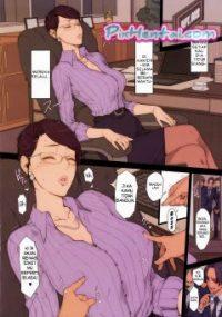 Bos Wanita dinikmati Karyawan saat Tidur