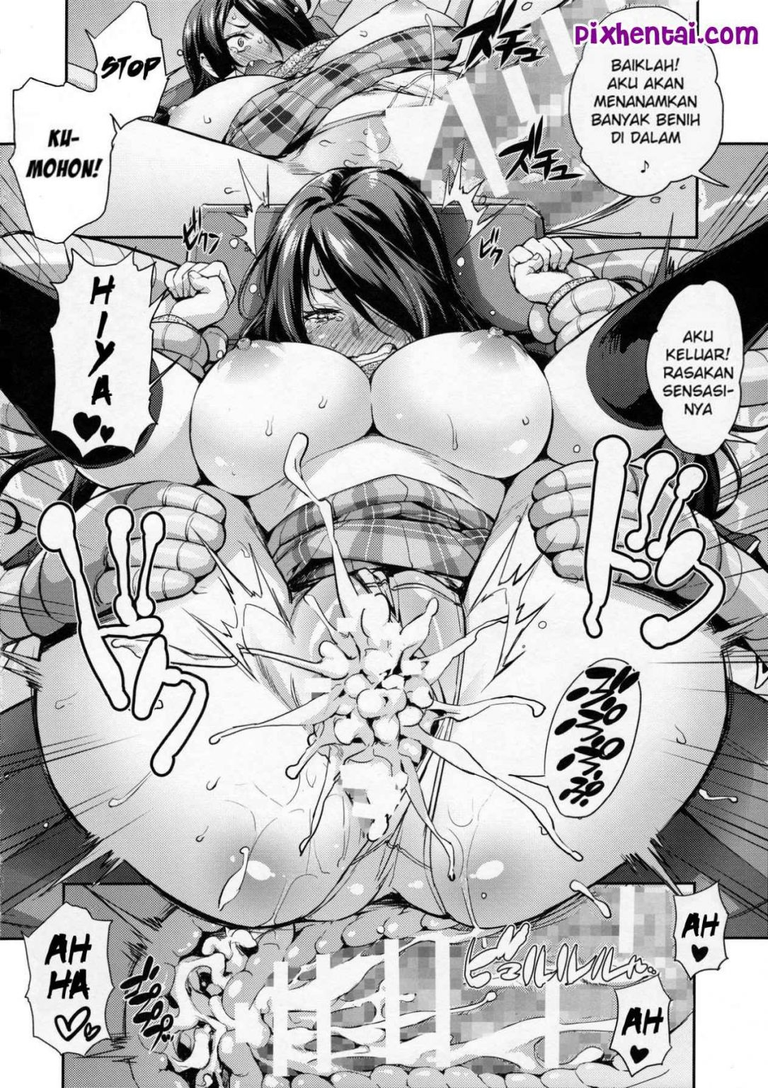 Komik Hentai Ngentot Satu Persatu Idol Seksi Manga Sex Porn Doujin XXX Bokep 11