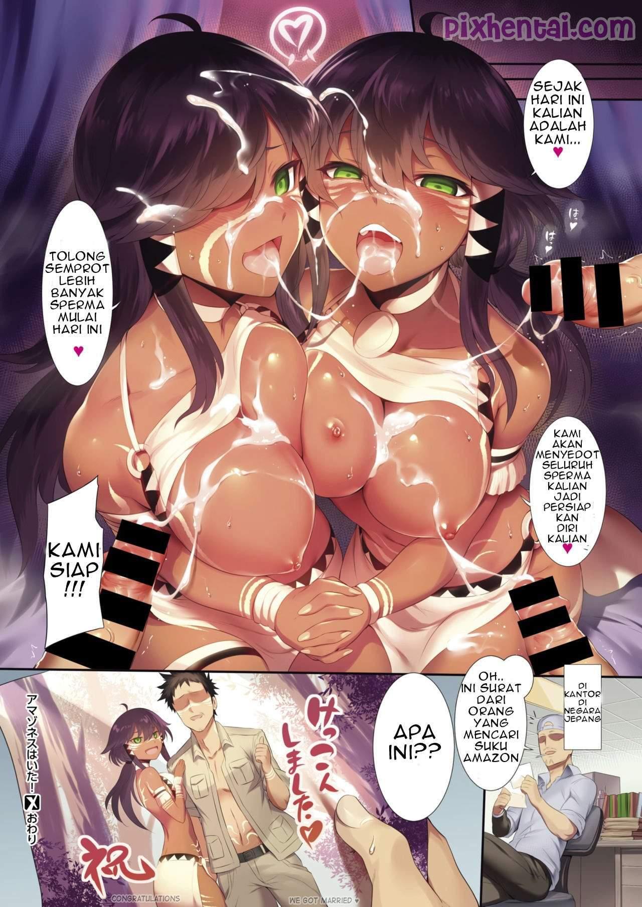 Komik hentai xxx manga sex bokep entot wanita suku amazon 08